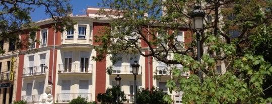 Plaza de la Victoria (Jardín de los Monos) is one of Malagaaaaa.