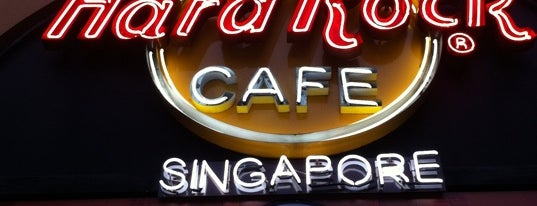 Hard Rock Café Singapore is one of Singapur.