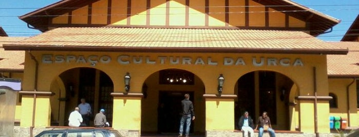 Espaço Cultural da Urca is one of cafe.