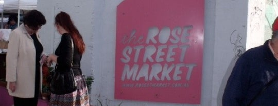 Rose Street Artists' Market is one of Melbourne.