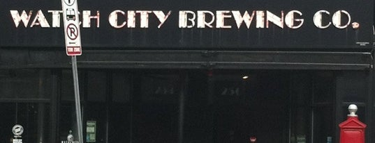 Watch City Brewing Co. is one of Gespeicherte Orte von Matt.