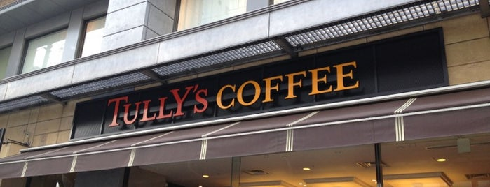 Tully's Coffee is one of Osaka.