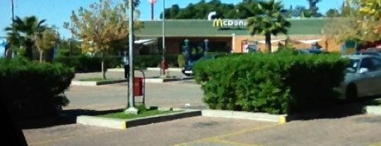 McDonald's is one of j'ai été.