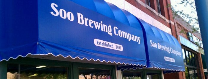 Soo Brewing Company is one of Breweries to Visit.