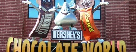 Hershey's Chocolate World is one of Sweet Spots of Hershey Harrisburg, PA #visitUS #4s.