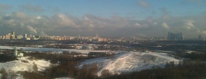 Крылатские холмы is one of Лучшие парки Мск.