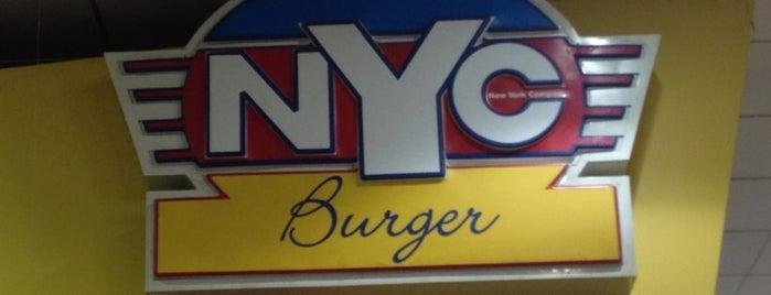 NYC Burger is one of Locais curtidos por Bfdrunk.