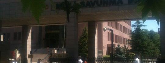 Milli Savunma Bakanlığı is one of สถานที่ที่บันทึกไว้ของ 🆉🅴🆈🅽🅴🅻.
