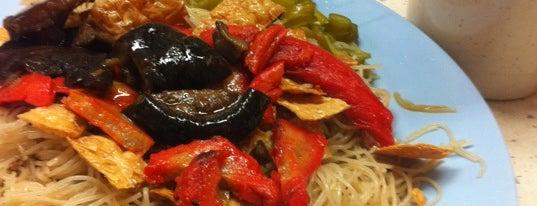 Hwa Jin Vegetarian Family Restaurant is one of Vegan and Vegetarian.