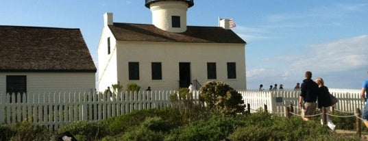 Old Point Loma Lighthouse is one of Favorite Haunts Insane Diego.