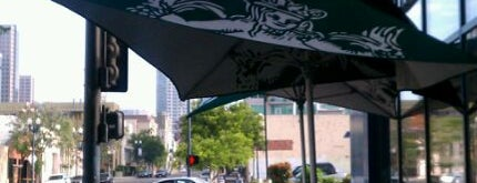 Starbucks is one of Harmoneys Favorite Downtown San Diego Spots.