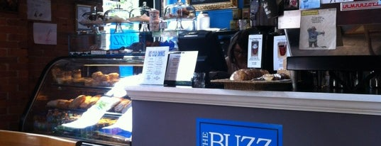 The Buzz Café & Espresso Bar is one of Cafes in Vancouver.