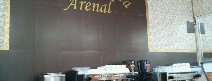 Cafetería Pizzería Arenal is one of Café, Bar,Restaurante en Melilla.