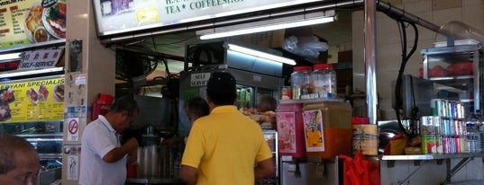 H.Amin Brothers Coffeeshop is one of Singapore's 10 greatest street food venues.