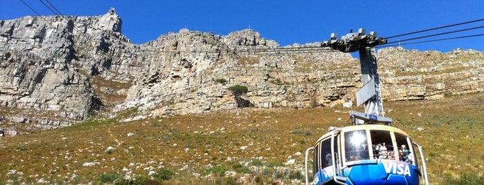 Table Mountain Aerial Cableway is one of mylifeisgorgeous in Cape Town.