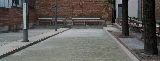 Little Italy Bocce Court is one of The Great Baltimore Check In 2012.