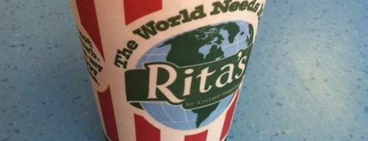 Rita's Italian Ice & Frozen Custard is one of favorites.