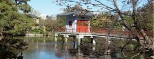 弁天池 (烏山の鴨池) is one of せたがや百景 100 famous views of Setagaya.