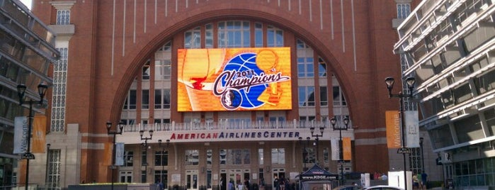 American Airlines Center is one of Attractions in central Dallas.