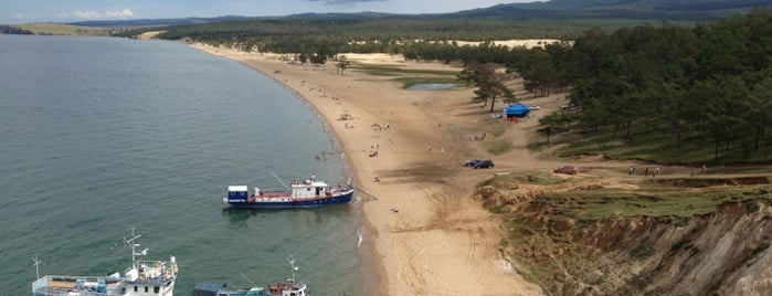 Пляж пос. Хужир is one of Artem: сохраненные места.