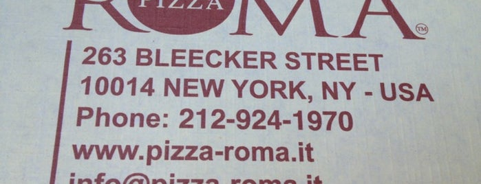 Pizza Roma is one of Gone But Not Forgotten....
