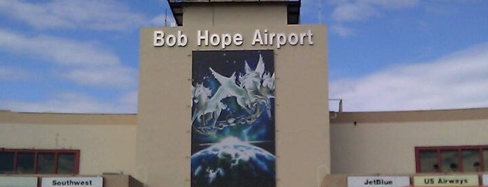Hollywood Burbank Airport (BUR) is one of Big Country's Airport Adventures.