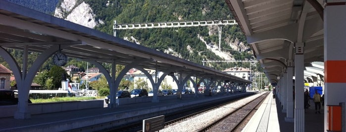 Bahnhof Interlaken West is one of My Switzerland Trip'11.