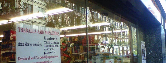 Superservis is one of Ofertas de Trabajo Comercios Barcelona.