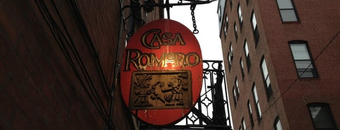 Casa Romero is one of Boston.