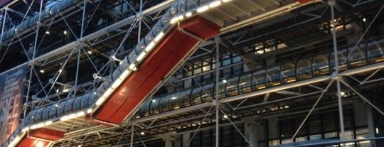 Centre Pompidou – Musée National d'Art Moderne is one of 100 Museums to Visit Before You Die.