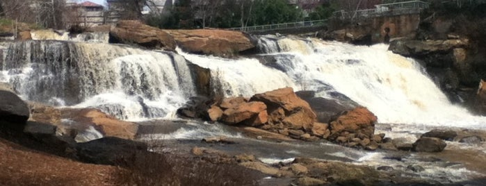 Falls Park On The Reedy is one of Greenville.