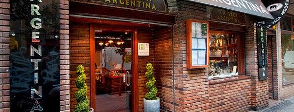 La Vaca Argentina is one of Rober.