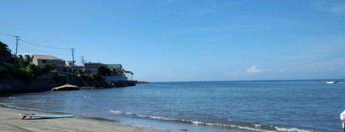 Zaimokuza Beach is one of Japan.