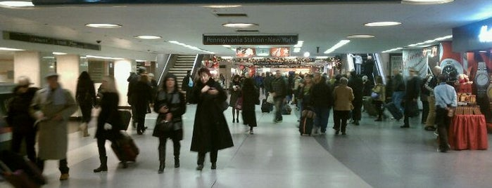 New York Penn Station is one of NYC to do.