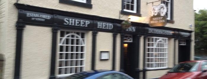 The Sheep Heid Inn is one of Edinburgh.