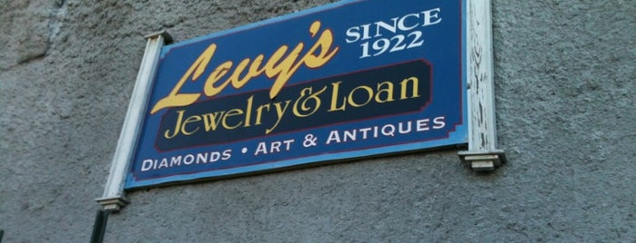 Levy's Fine Jewelry is one of Steel City.