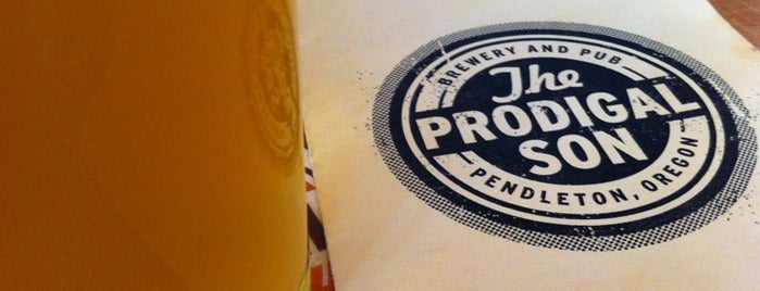 The Prodigal Son Brewery & Pub is one of Oregon Brewpubs.