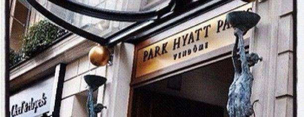 Hôtel Park Hyatt Paris-Vendôme is one of Travel.