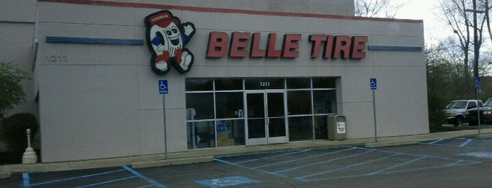 Belle Tire is one of Greg 님이 좋아한 장소.