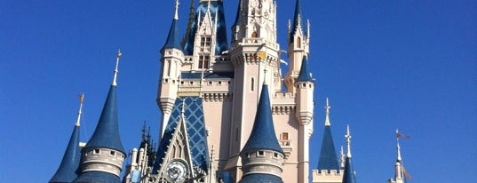 Cinderella Castle is one of Florida Trip '12.