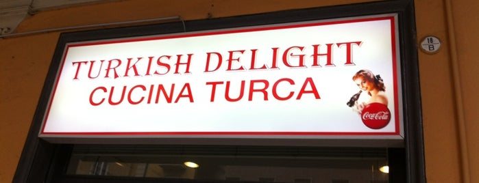 Turkish Delight is one of Bologna city.