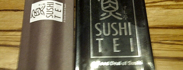 Sushi Tei is one of try in Indonesia.