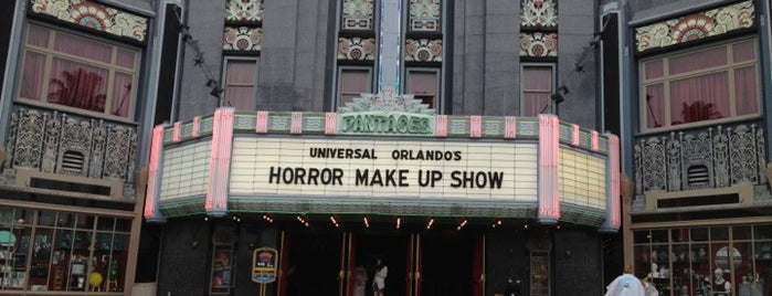 Universal's Horror Make-Up Show is one of Lieux qui ont plu à Kate.