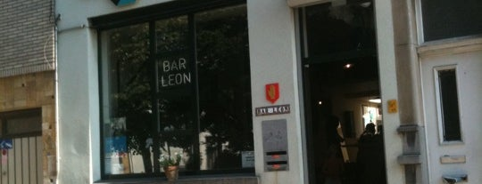 Bar Leon is one of Antwerpen does #4sqCities.