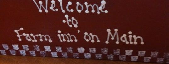 Farm Inn' On Main is one of George'nin Beğendiği Mekanlar.