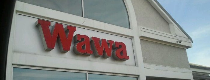 Wawa is one of Lieux qui ont plu à Erik.