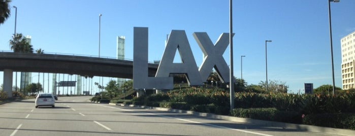 Los Angeles Uluslararası Havalimanı (LAX) is one of The Amazing Race 20 map.