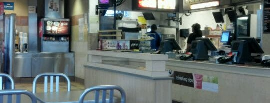 McDonald's is one of Robert : понравившиеся места.