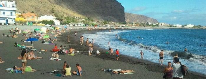 Playa La Calera is one of La Gomera, Spain.