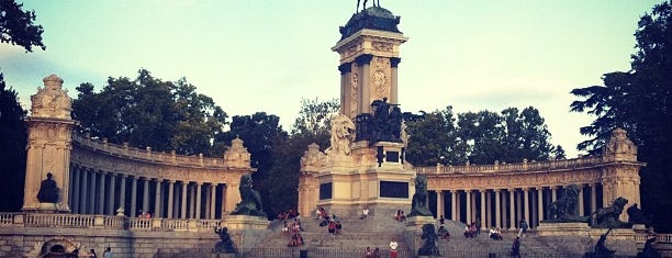 Embarcadero del Retiro is one of Dieter's favourite spots in Madrid.